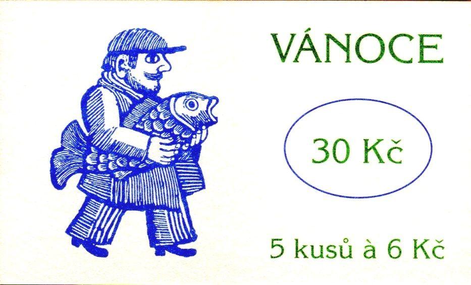 (1998) ZS 69 - Česká pošta - Vánoce
