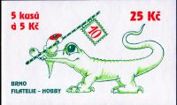 (1999) ZS 78 - Czech Post - 10 years of Philately HOBBY