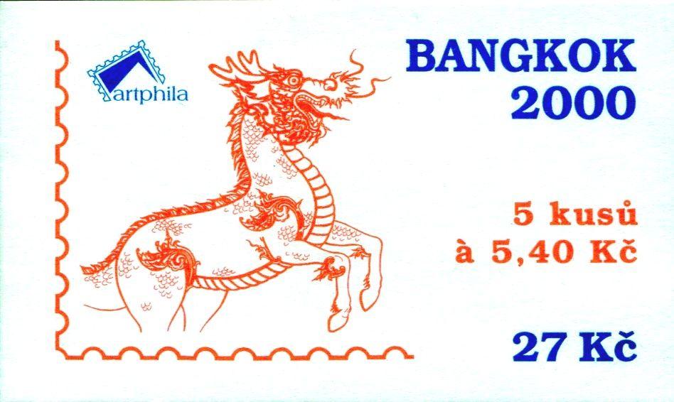 (2000) ZS 80 - Česká pošta - Bangkok 2000