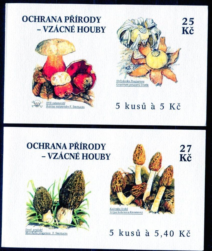 (2000) ZS 81 - 82 - Česká pošta - Ochrana přírody - Vzácné houby