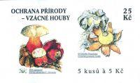 (2000) ZS 81 - Czech Post - Protecting nature - Rare Mushrooms