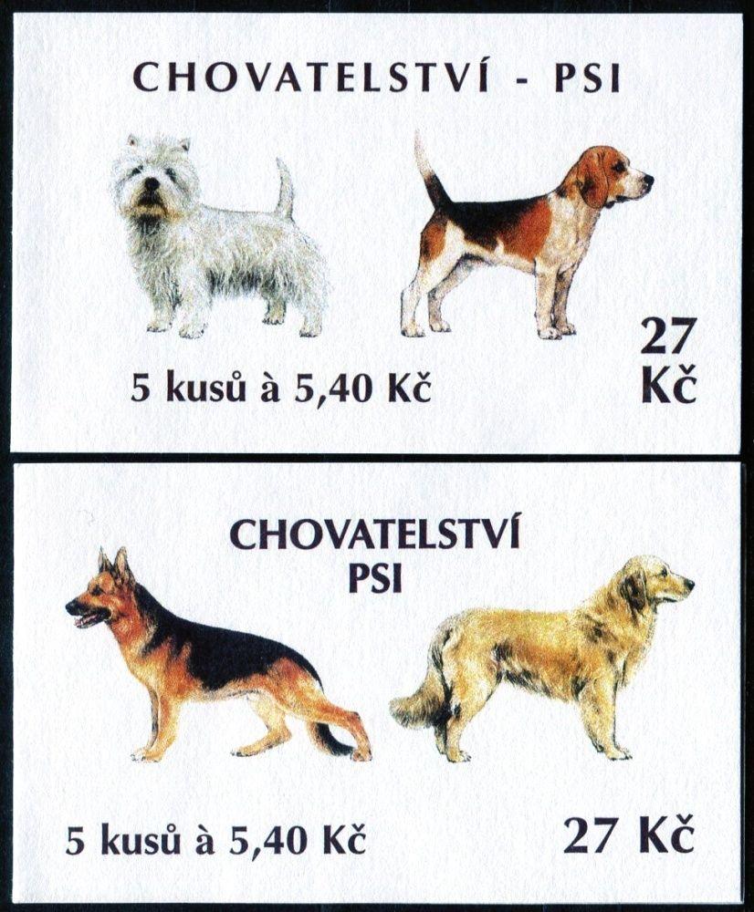 (2001) ZS 86 - 87 - Česká pošta - Chovatelství - Psi
