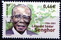 (2002) MiNr. 3676 ** - Francie - 1. výročí smrti Léopold Sédar Senghor