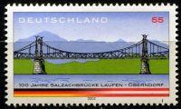 (2003) MiNr. 2345 ** - Německo - 100 let Salzachbrücke Laufen-Oberndorf