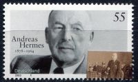 (2003) MiNr. 2354 ** - Německo - Demokraté (II): Andreas Hermes