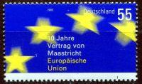 (2003) MiNr. 2373 ** - Německo - 10 let Maastrichtská smlouva (Evropská unie)