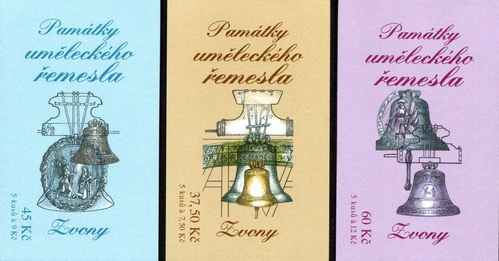 (2005) ZS 95 - 97 - Česká pošta - Umělecká řemesla - Zvony