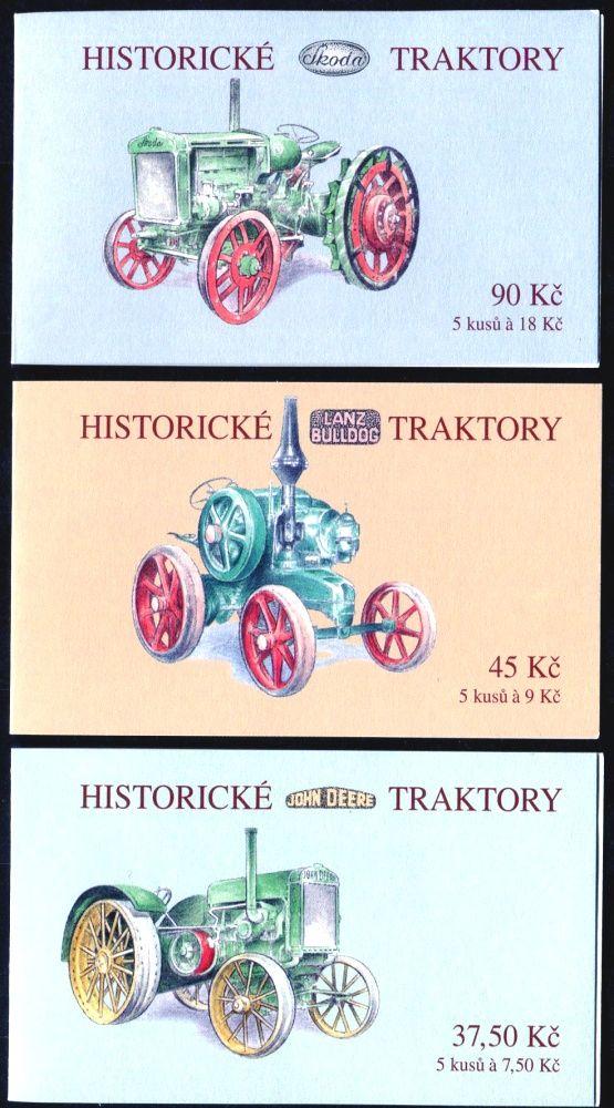 (2005) ZS 98 - 100 - Česká pošta - Historické traktory