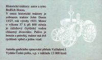 (2005) ZS 98 - Česká pošta - Historické traktory