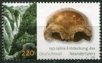 (2006) MiNr. 2553 ** - Německo - Archeologie v Německu (III): 150. výročí objevení neandrtálců