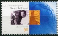 (2006) MiNr. 2573 ** - Německo - 50. výročí Nobelovy ceny za medicínu Werner Forßmann