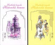 (2008) ZS 106 - 107 - Česká pošta - Umělecká řemesla - Historická kamna
