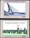 (2010) ZS 112 - 113 - Česká pošta - Technické památky - Mosty