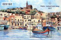 (2011) MiNr. 1691 ** - Malta - BLOCK 50 - Přátelství s Islandem - rybářská místa