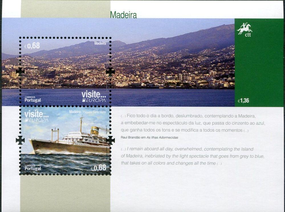 (2012) MiNr. 317 ** - Portugalsko Madeira - BLOCK 52 -  Europa: Návštěvy