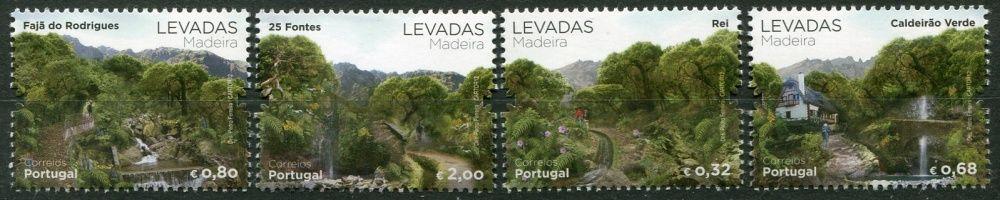 (2012) MiNr. 318 - 321 ** - Portugalsko Madeira -  Umělé zavlažovací kanály Levadas Madeira