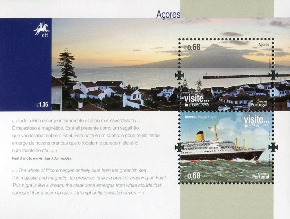 (2012) MiNr. 578 ** - Portugalsko Azory - Europa: Návštěvy