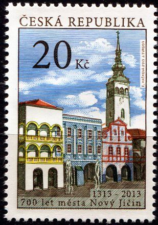(2013) č. 777 ** - Česká republika - Krásy naší vlasti - Nový Jičín