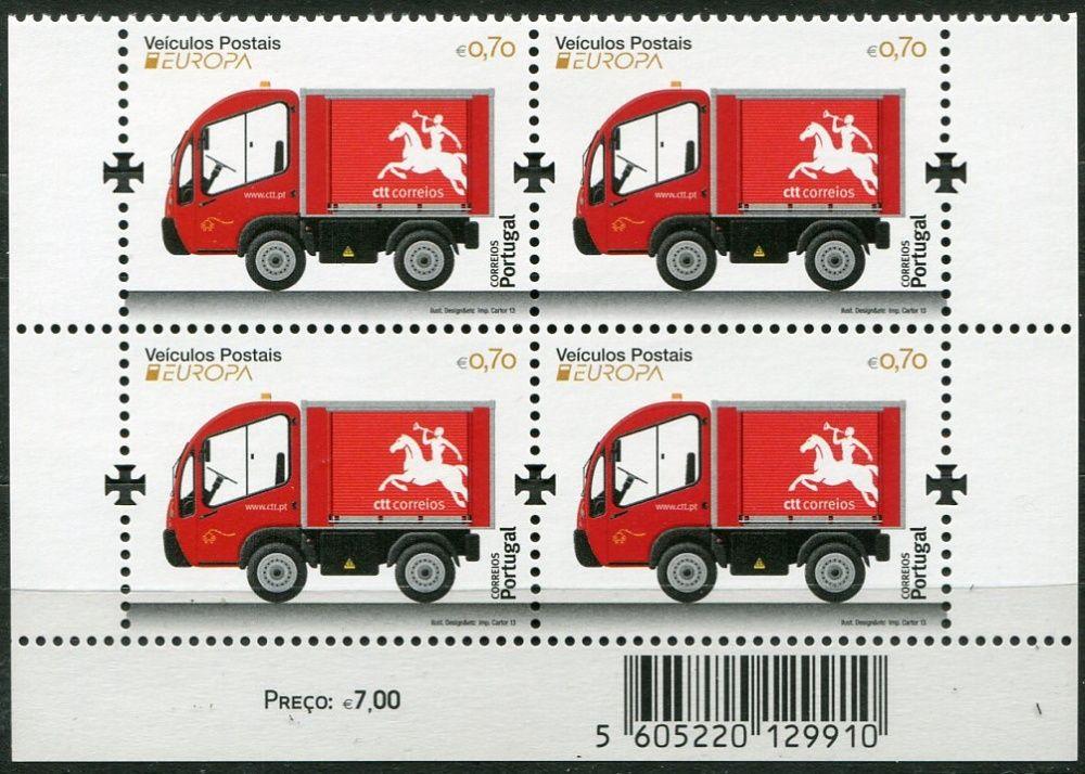 (2013) MiNr. 3843 ** - Portugalsko - Evropa: Poštovní vozidlo
