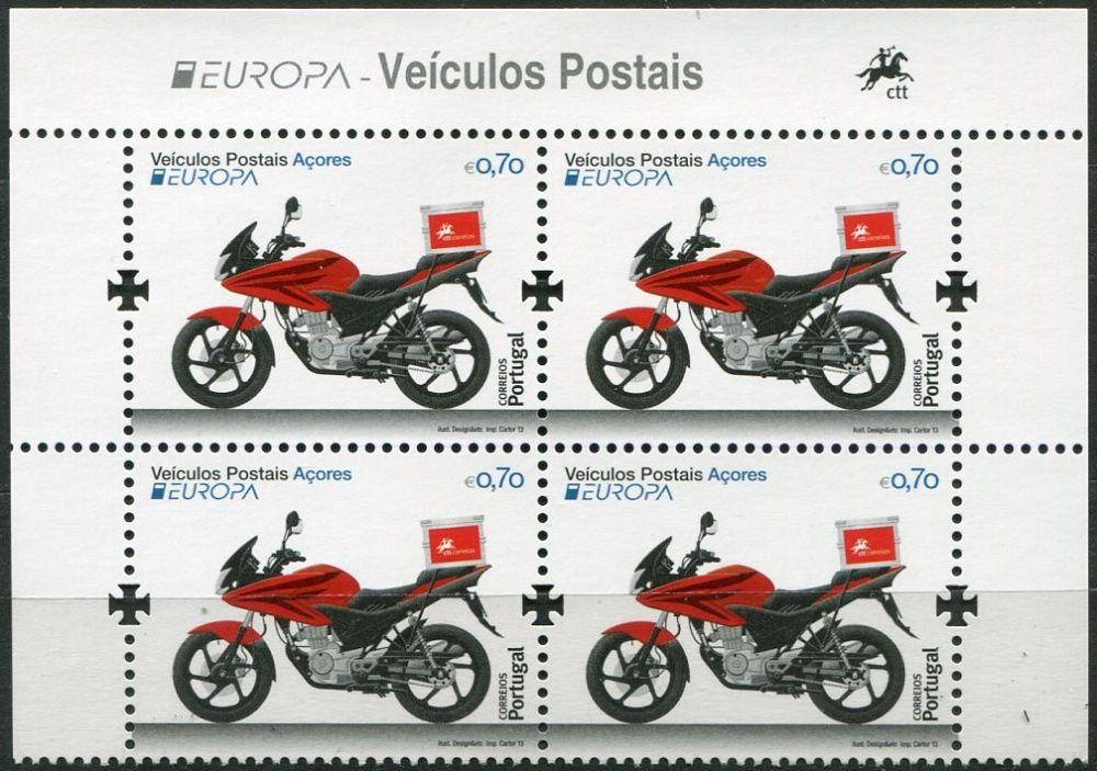(2013) MiNr. 585 ** - Portugalsko Azory - Europa: Poštovní vozidla