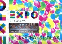 (2015) MiNo. 841 ** - Czech republic - MINISHEET 57 - postage stamps