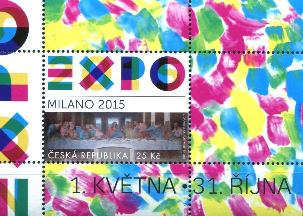 (2015) A 843 ** - ČR - EXPO 2015 Milano