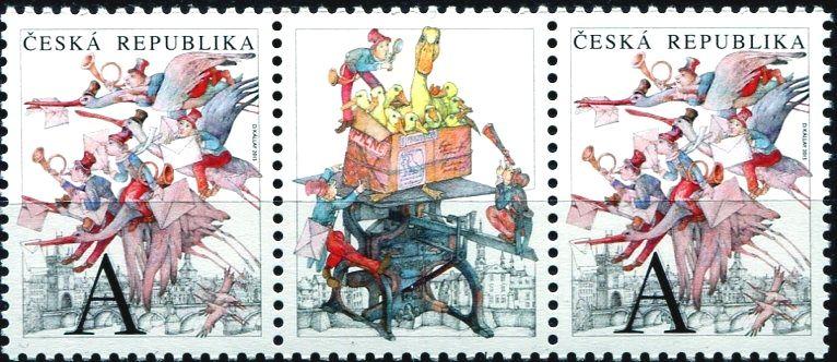 (2015) č. 841 ** - Česká republika - Pošta na křídlech