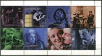 (1996) MiNr. 1337 - 1344 ** - Finsko - 100 let finského filmu