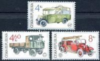 (1997) č. 159-161 ** - 4-8 Kč - ČR - Vozidla