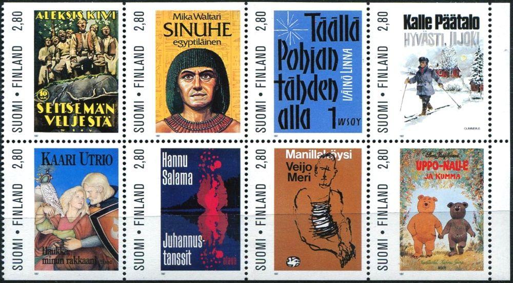 (1997) MiNr. 1403 - 1410 ** - Finsko - 100 let Svazu německých spisovatelů