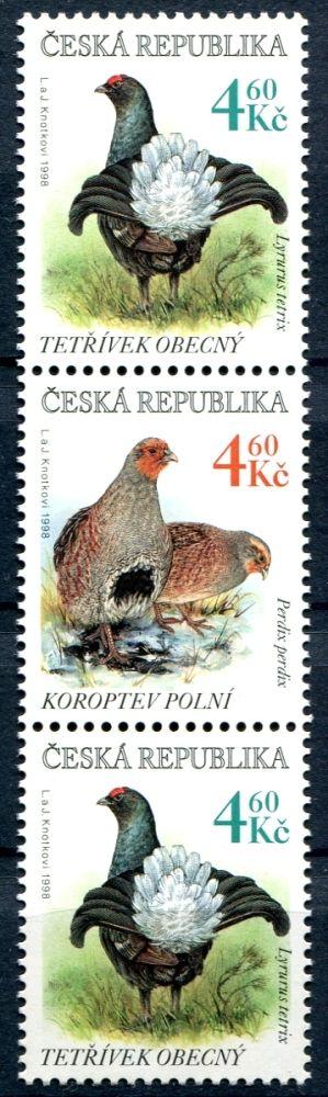 (1998) č. 179-180 ** - 3-pá - ČR -  polní ptactvo