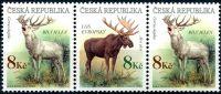 (1998) č. 181-182 ** - ČR -  Los + jelen