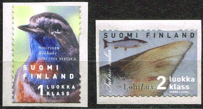 (1999) MiNr. 1461 - 1462 ** - Finsko - Ryby a ptáci