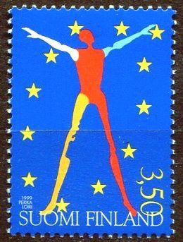 (1999) MiNr. 1483 ** - Finsko - Předsednictví Finska v Evropské unii