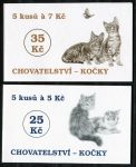 (1999) ZS 71 - 72 - Czech Post - Breeding - Cats