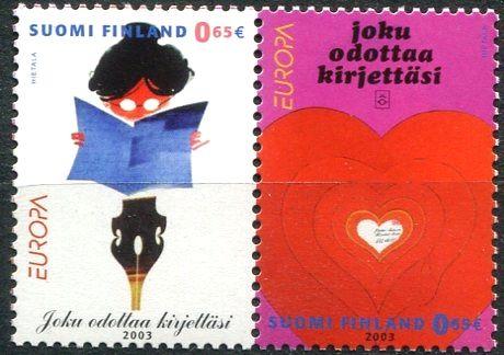(2003) MiNr. 1655 - 1656 ** - Finsko -  Plakát