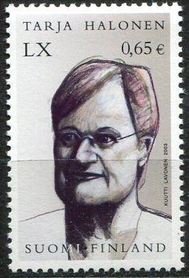 (2003) MiNr. 1679 ** - Finsko -  60. narozeniny Tarja Halonen