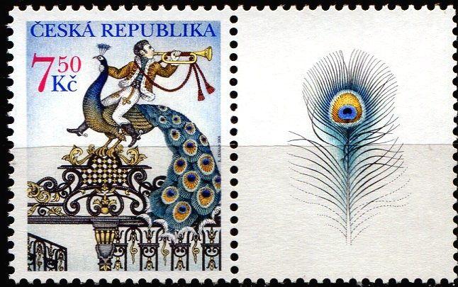 (2005) č. 424 ** - Česká republika - Brána s pávem  (1 + K1)