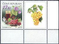 (2008) č. 545 ** - Česká republika - Zátiší s vínem