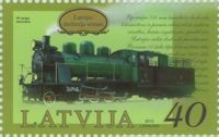 (2010) MiNr. 791 ** - Lotyšsko - Historie železnice v Lotyšsku (II)