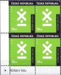 (2011) č. 666 ** - Česká republika - 4-bl - Sčítání lidu