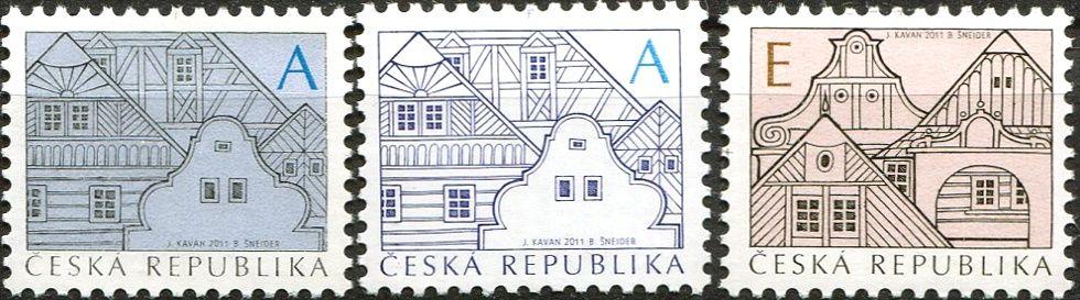 (2011) č. 674 a,b - 675 ** - Česká republika - Lidová architektura