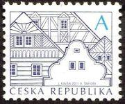 (2011) č. 674 b ** - Česká republika - Lidová architektura