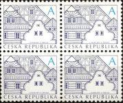(2011) č. 674 b ** - Česká republika - 4-bl - Lidová architektura