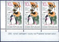 (2011) č. 679 ** - Česká republika - 3-bl - 200. výročí výuky na Pražské konzervatoři