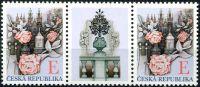 """(2011) č. 703 ** - Česká republika - Růže nad Prahou """"E"""""""