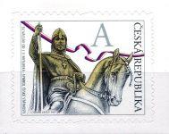 """(2012) č. 724 ** - Česká republika - Svatý Václav """"A"""""""