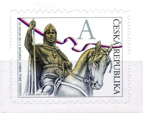 """(2012) č. 724 ** - Česká republika - Svatý Václav """"A"""