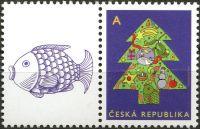"""(2012) č. 752 ** - Česká republika - Vánoční motiv """"A"""""""