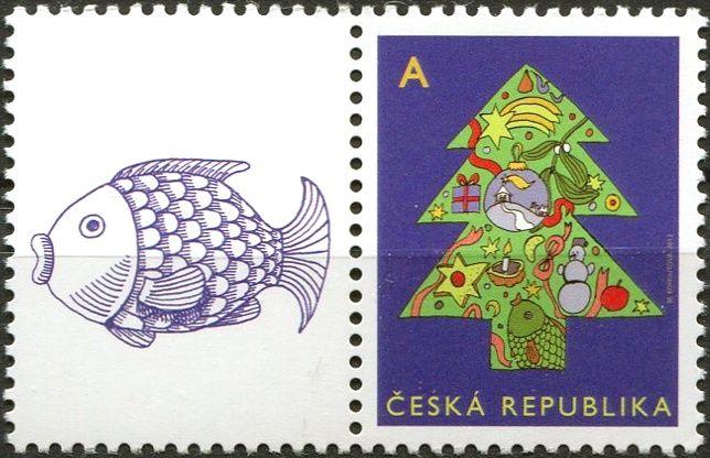 """Česká pošta (2012) č. 752 ** - ČR - Vánoční motiv """"A"""" - K1L"""